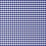 蓝色方格花布 库存照片