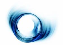 蓝色旋涡 免版税库存照片