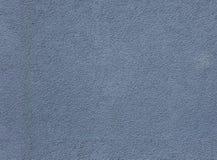 蓝色无缝的灰泥纹理 免版税库存照片