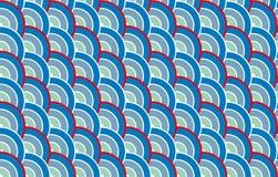 蓝色日本纹理 库存照片