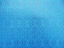 蓝色明亮的墙纸 免版税库存照片