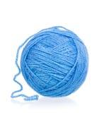 蓝色明亮的线程数 免版税图库摄影