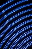 蓝色曲线,抽象 库存图片