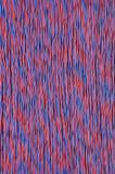 蓝色有线电视网红色 免版税库存图片