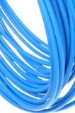 蓝色有线电视网 库存照片