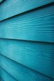 蓝色木头 免版税库存照片
