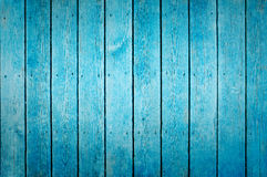 蓝色木纹理背景 免版税库存图片