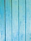 蓝色木纹理 免版税图库摄影