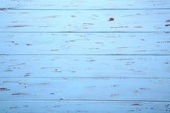 蓝色木背景或木纹理,木板 库存图片