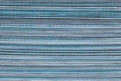 蓝色木背景或纹理 免版税库存图片