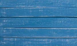 蓝色木背景背景 免版税库存图片