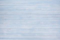 蓝色木背景 免版税库存图片