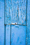 蓝色木头 库存照片