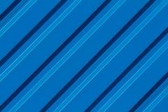 蓝色条纹对角线背景 图库摄影