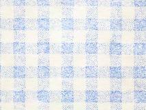 蓝色条纹纸纹理特写镜头  免版税库存照片