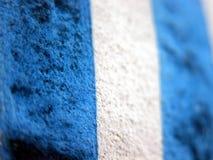 蓝色条纹纹理 免版税库存照片