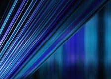 蓝色条纹背景 免版税库存照片