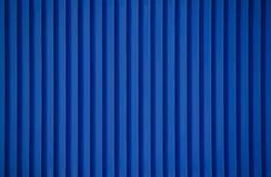蓝色条纹金属 库存照片