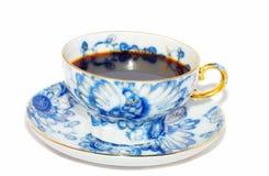 蓝色杯子 库存图片