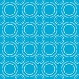 蓝色样式传染媒介例证 免版税库存照片
