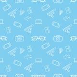 蓝色样式技术项目 库存图片