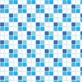 蓝色样式摘要背景传染媒介 图库摄影