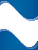 蓝色格式现代页 库存例证