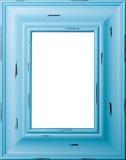 蓝色框架照片 免版税库存照片