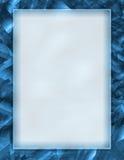 蓝色框架 免版税库存图片
