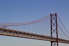 蓝色桥梁天空 免版税图库摄影