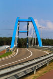 蓝色桥梁 库存照片