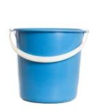 蓝色桶 免版税库存图片