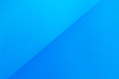 蓝色梯度纸 库存照片