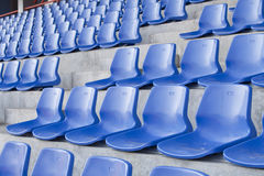 蓝色椅子 库存照片