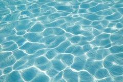 蓝色模式纹理水 库存图片