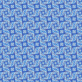 蓝色模式 库存例证