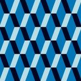 蓝色模式 免版税库存照片