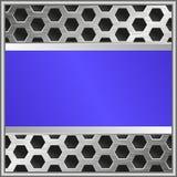 蓝色横幅 免版税库存照片