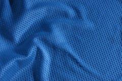 蓝色橄榄球泽西 免版税图库摄影
