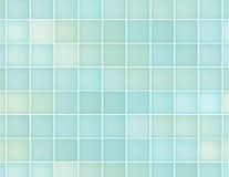 蓝色正方形背景用不同的树荫 库存照片