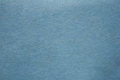 蓝色毛毡 免版税图库摄影