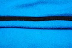 蓝色毯子 免版税库存图片
