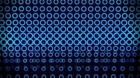 蓝色氖盘旋墙壁抽象行动背景vj圈 皇族释放例证