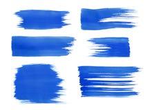 蓝色水彩 图库摄影