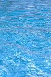 蓝色池水 免版税图库摄影