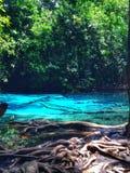 蓝色池 图库摄影