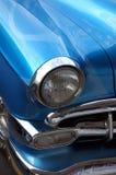 蓝色汽车经典之作 库存照片