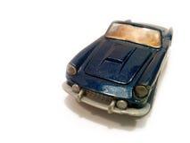蓝色汽车豪华 库存照片