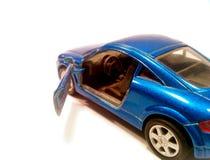 蓝色汽车豪华 库存图片