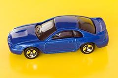 蓝色汽车 免版税图库摄影